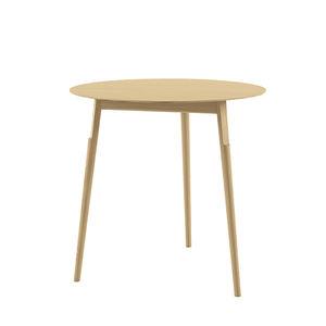 mesa contemporánea / de roble / de madera maciza / de madera lacada
