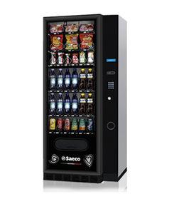 máquina expendedora de alimentos de pie / para el sector servicios