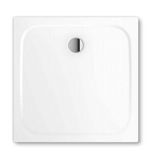 plato de ducha cuadrado / independiente / de acero / extraplano