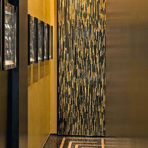 mosaico de interior / de pared / de vidrio / de mármol