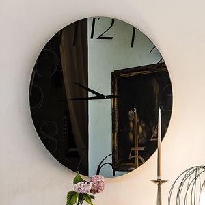relojes contemporáneos / analógicos / de pared / de vidrio