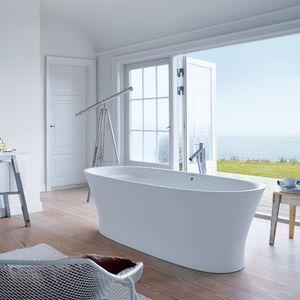 bañera independiente / ovalada / de cerámica / de Philippe Starck