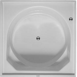 bañera redonda / cuadrada / de material compuesto / de fibra acrílica