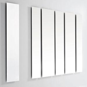 espejo de pared / con luz LED / contemporáneo / rectangular