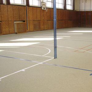 pavimento deportivo de linóleo / de interior / industrial / profesional