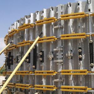 encofrado modular / circular / curvo / de acero galvanizado