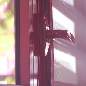 manilla para puerta corredera / para ventana corredera / de aluminio / contemporánea