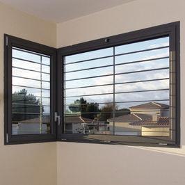 ventana abatible / basculante / oscilobatiente / fija
