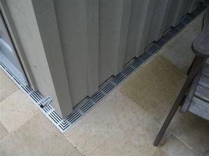 canal de drenaje de PVC