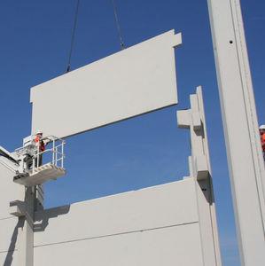 panel estructural de hormigón / para tabique / prefabricada