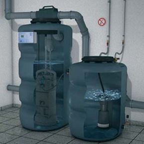 estación depuradora para uso doméstico de agua