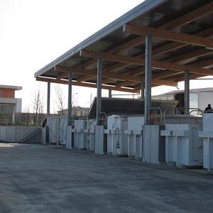 tanque enterrado / flexible / para la recogida de aceite usado / de hormigón armado