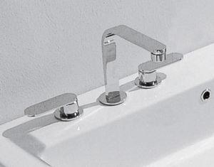 grifo bimando para lavabo