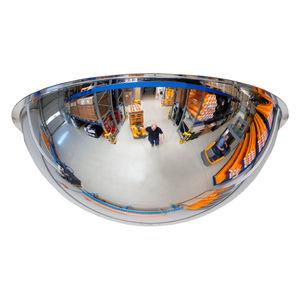 espejo industrial / de techo / de observación / contemporáneo