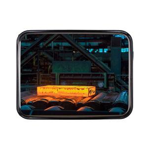 espejo industrial / de pared / contemporáneo / rectangular