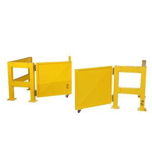 barrera de control de acceso / abatible / de metal / para edificio público