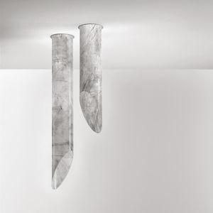 plafón contemporáneo / de acero pintado / de tejido / de fibra de vidrio