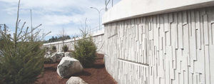 muro de contención de hormigón