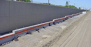 malla metálica para muro de contención
