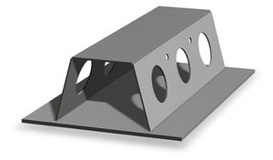 vigueta de acero / para forjado / prefabricada