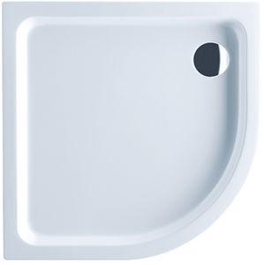 plato de ducha de esquina / empotrable / de fibra acrílica