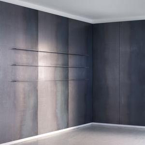 panel de metal de acero / de pared / para el sector servicios