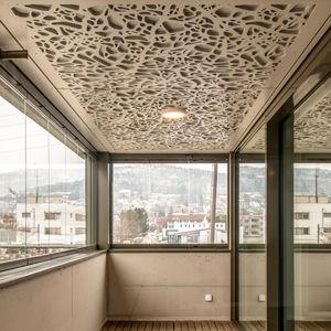 panel decorativo de revestimiento / de madera / para falso techo / para barandilla