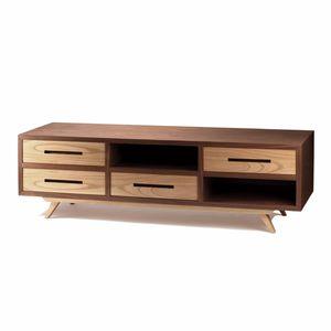 mueble de televisión de estilo contemporáneo