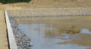 depósito de agua pluvial