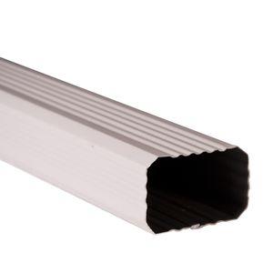 canalón de cobre / de aluminio / rectangular