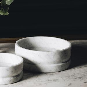 centro de mesa de mármol