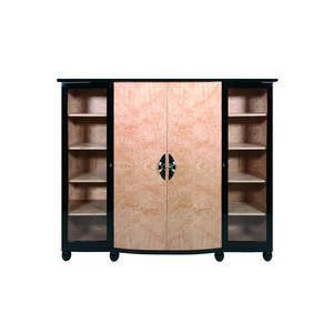 armario Art Deco / de madera / con puertas batientes / con cajones