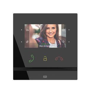 videoportero con manos libres / IP / para control de acceso / con pantalla a color