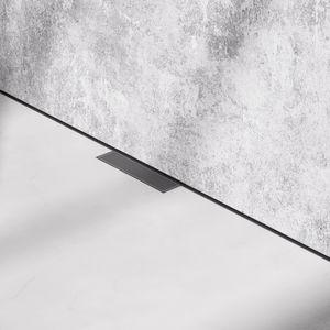desagüe de ducha de acero inoxidable cepillado
