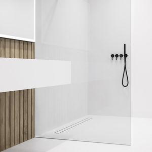 canal/ón de suelo Canaleta de ducha moderna de acero inoxidable diferentes modelos y tama/ños Zelsius desag/üe de ducha para desag/üe de suelo 70  cm Bendigo