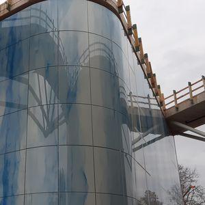 panel de vidrio de seguridad