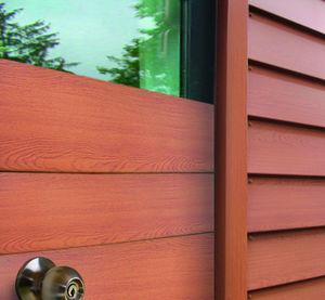 revestimiento de fachada de paneles / en láminas / de tipo cassette / de acero
