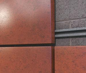 revestimiento de fachada de paneles / de tipo cassette / de acero / pintado