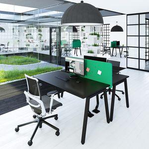 escritorio para open space / de melamina / contemporáneo / para el sector servicios
