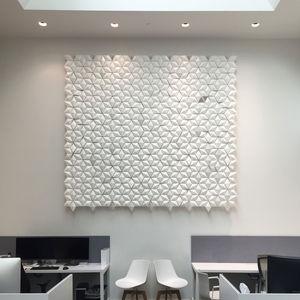 panel decorativo de aluminio / de pared / ignífugo / 3D