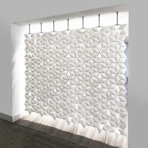 tabique modular / de aluminio / para oficina / para open space