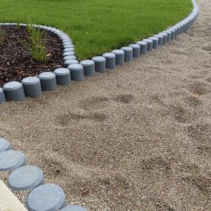 borde de separación / de jardín / para paisajismo / de plástico reciclado