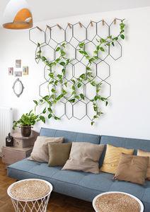 enrejado para muro vegetal