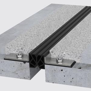 junta de dilatación de TPE / de acero / para forjado / para aparcamiento