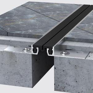 junta de dilatación de aluminio / para forjado / para baldosas / para peatones