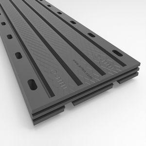junta de dilatación de caucho / de acero / para la construcción de puentes / transitable