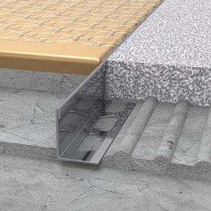 perfil de separación de acero inoxidable / para baldosas