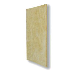 aislante acústico / de fibra de madera / para forjado / tipo panel