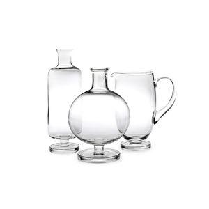botella de vidrio soplado