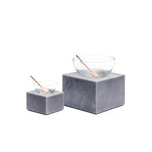 salero y pimentero de mármol
